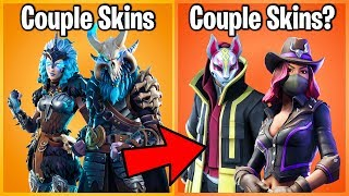 10 SKINS FORTNITE VOUS NE SAVEZ PAS ARE COUPLES! (duo peaux fortnite)