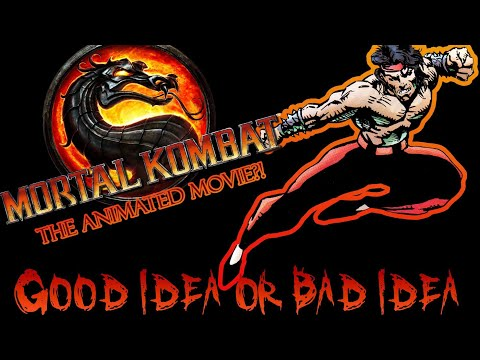MORTAL KOMBAT!!! Can an ANIMATED Movie Work?! thumbnail