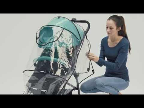 Детская прогулочная коляска Britax Roemer B-Lite, витринный экземпляр. Видео №1
