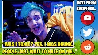 Ninja EXPLAINS & Responds TO ALL The Hate & Backlash He Got.. (Fortnite FUNNY & Daily Best Moments)