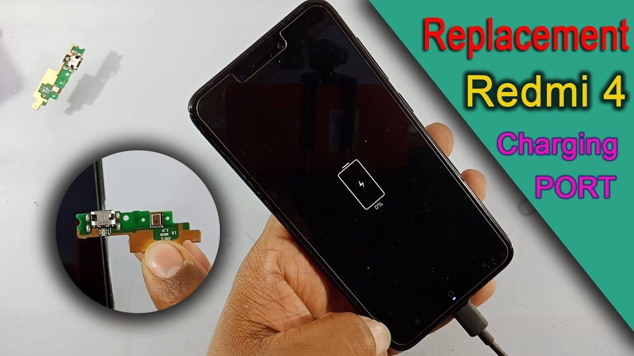 Xiaomi Redmi 4  U0026 Redmi 4x Chrging Port Replace