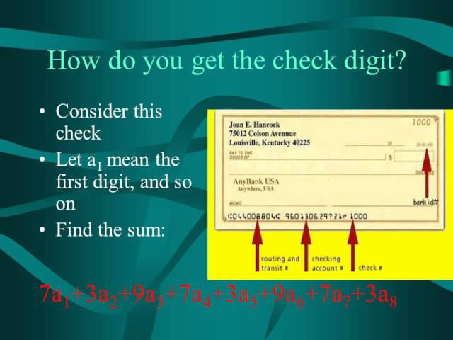 3 Ways to Calculate the Check Digit of a Routing Number from an ...