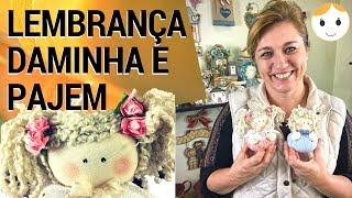 BONECA LEMBRANÇA DAMINHA DE CASAMENTO