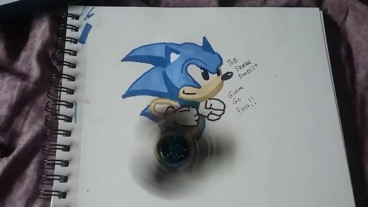 Sonic The Fidget Spinner Youtube