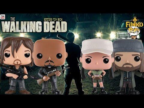 The Walking Dead: Daryl Dixon, Gabriel, Jesus and Rosita Funko Pop! Review!