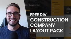 Get a FREE Construction Company Layout Pack