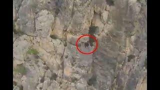 WARNING : Horrifying Base Jump Extreme Accident !!