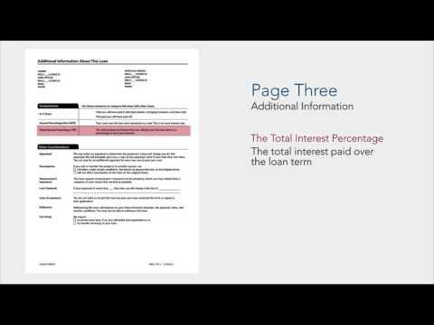 TRID - TILA/RESPA Integrated Disclosures Introduction