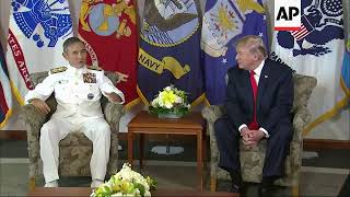 Trump meeting Pacific Command commander