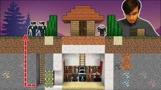 EN TEHLİKELİ KÜÇÜK EVDEN KAÇIŞ (Minecraft)