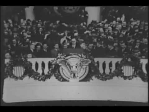 Franklin Roosevelt's Inauguration 1933