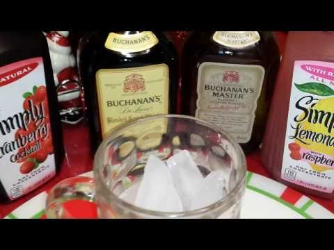 Newest BUCHANAN'S SCOTCH WHISKY mixed drinks IDEA