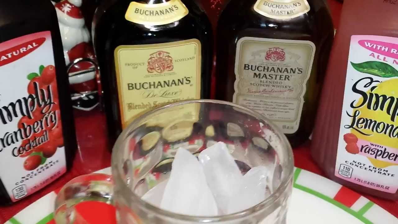 Newest Buchanans Scotch Whisky Mixed Drinks Idea Youtube