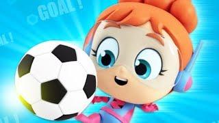 Soccer Song | Nursery Rhymes and Kids Songs | Cartoons For Babies