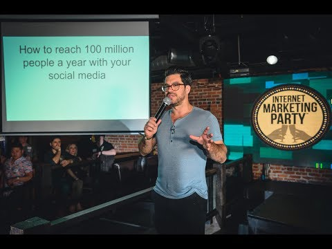 The Secret To Going Viral (Exclusive Clip From My 2017 Internet Marketing Party Talk)