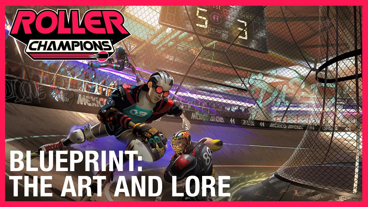 Roller Champions: Blueprint: The Art and Lore | Ubisoft