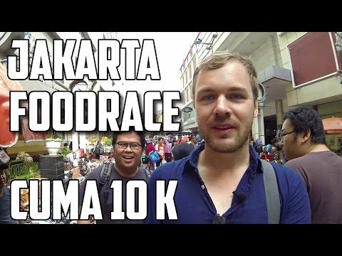 FOOD RACE 10 Ribu Jakarta Pasar Baru ft. Ngakak Yuk Production dan Enjoyaja.com | FVLOG #81