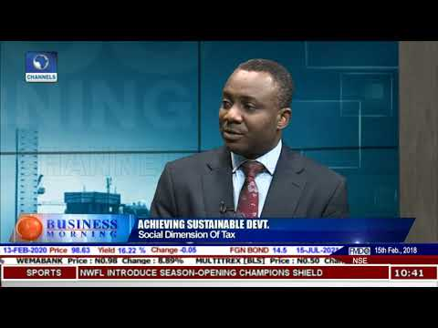 Role Of Tax In Sustainable Economic Growth In Nigeria - Prof Amaeshi |Business Nigeria|