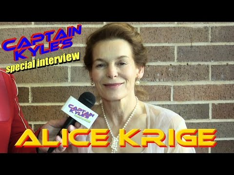 Alice Krige (Star Trek First Contact) - Captain Kyle Special Interview