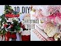 🎄10 DIY DOLLAR TREE CHRISTMAS TREE DECORATING IDEAS🎄ep.3