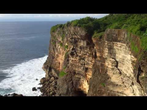 Bali Island Pura Uluwatu Temple 360 degrees hill view