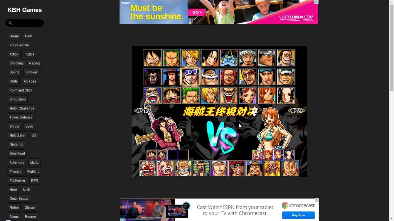 One piece ultimate fight 1.6 glitch - YouTube