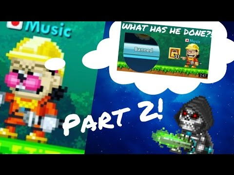 Pixel Worlds   THINGS YOU SHOULDN'T SAY TO MODS! Ep. 2 ft. Music ...