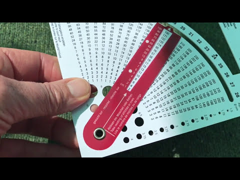 How to use the Prym Knitting Gauge Converter Tool