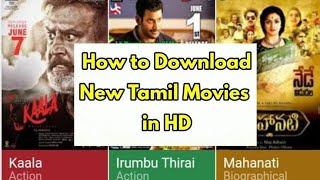 How to download new movies in Tamil Rockers