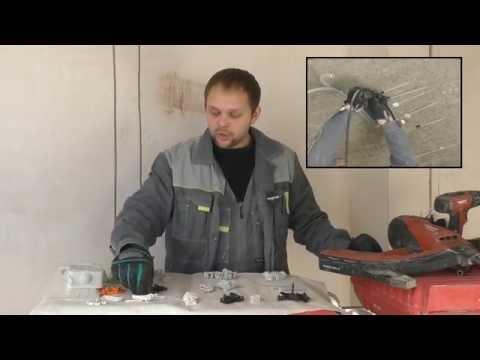Как крепить кабель канал к бетонной стене без сверления