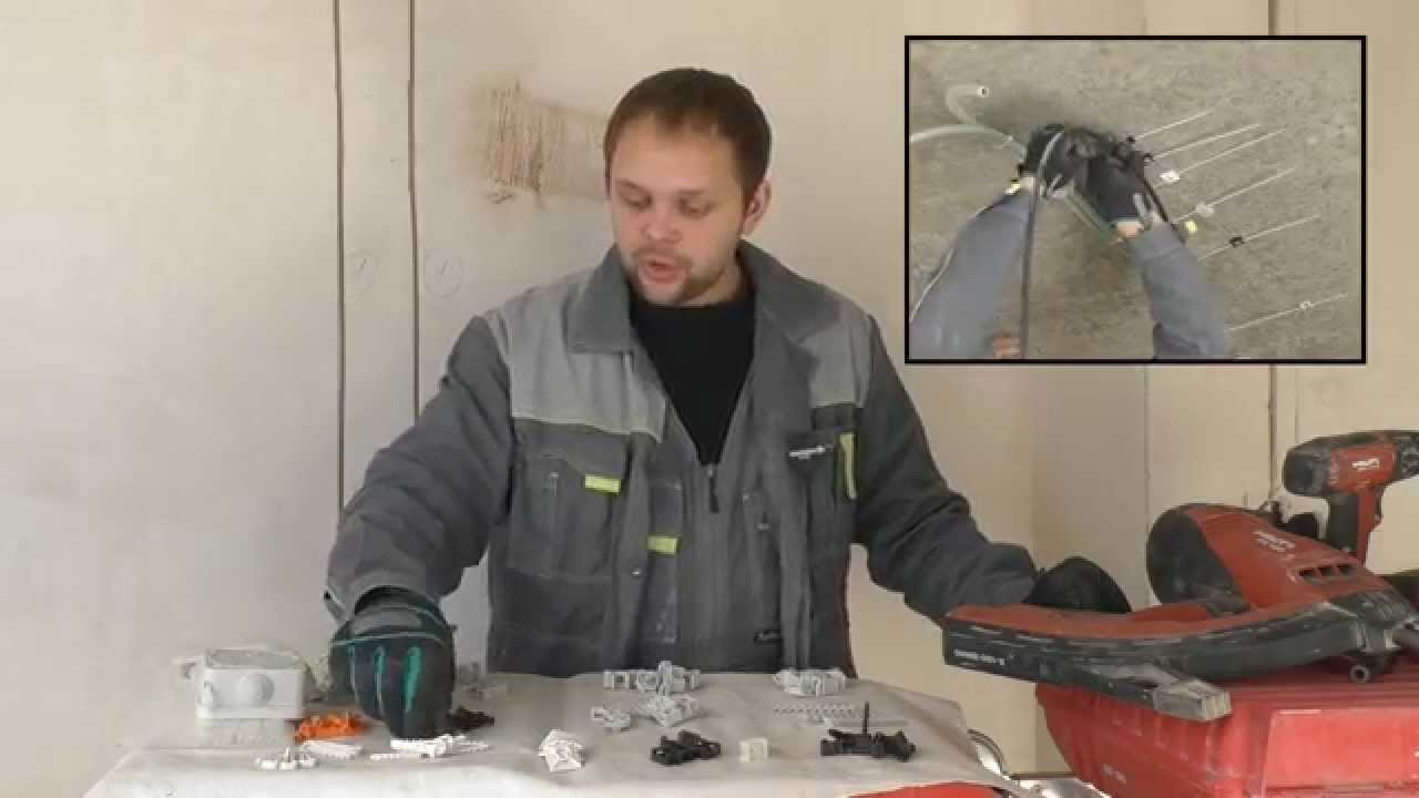 Т8.1 Способы крепления кабелей