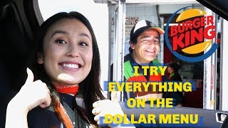 I TRY EVERYTHING ON THE DOLLAR MENU (I FELL IN LOVE W/ OSCAR)