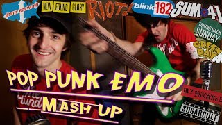 Pop Punk Mash Up!! (10 Popular Songs!)