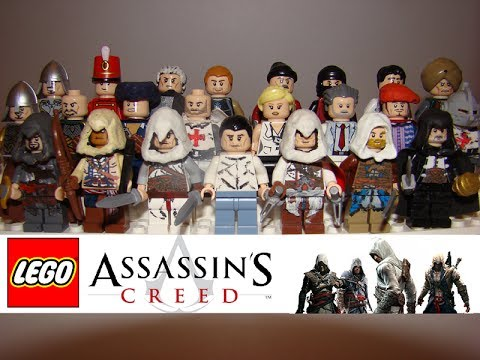 Lego Assassin S Creed Minifigures And Models Custom Youtube