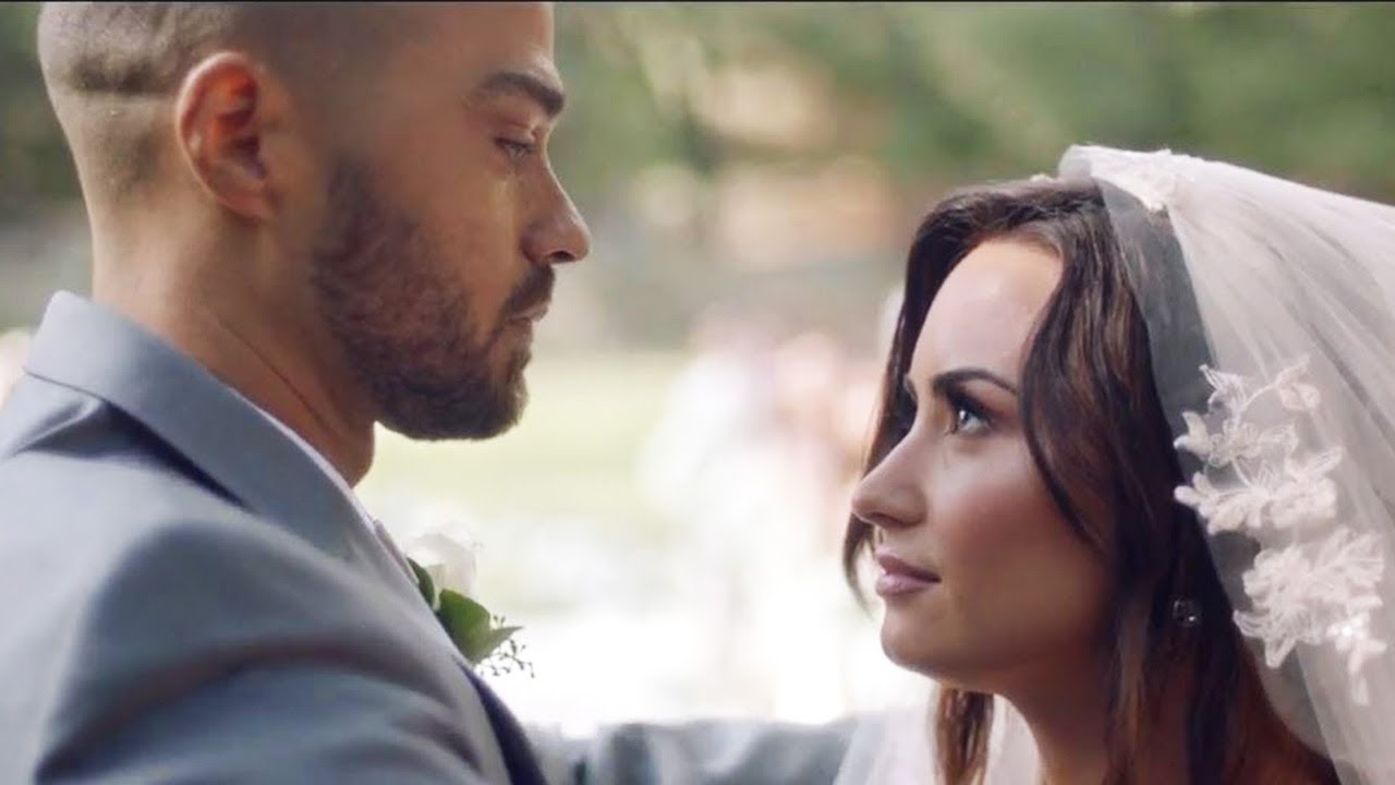 Demi Lovato Marries Jesse Williams In Tell Me You Love Me Music Video