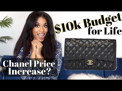 $10,000 TO SPEND (on bags) FOR YOUR WHOLE LIFE | +Chanel 2019 PRICE INCREASE 🙄 | KWSHOPS