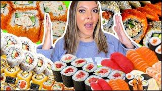 طلبت أكل من كل مطاعم السوشي في مدينتي!!!! 😱🍣 الفاتورة صدمة...💔