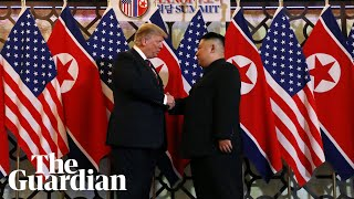 Donald Trump and Kim Jong-un meet for second time