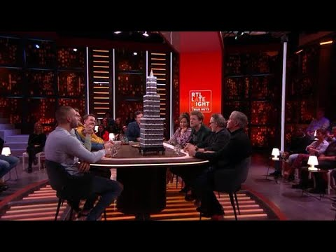 Lex in de regio: Kunstwerk van lachgaspatronen  - RTL LATE NIGHT MET TWAN HUYS