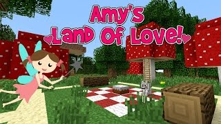 amys land of love ep147 picnic with the fairies minecraft amy lee33