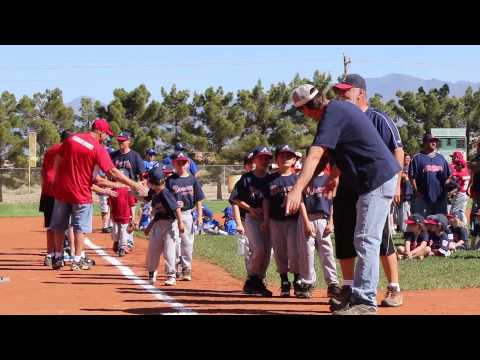 Little league Opening Ceremony 2015 Pahrump NV