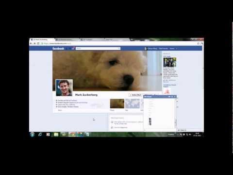 Facebook Tricks/hacks: New Chat Trick 2012. Must WATCH Part 1