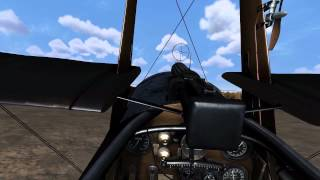 Video for familiarisation and takeoff in the Sopwith Triplane.