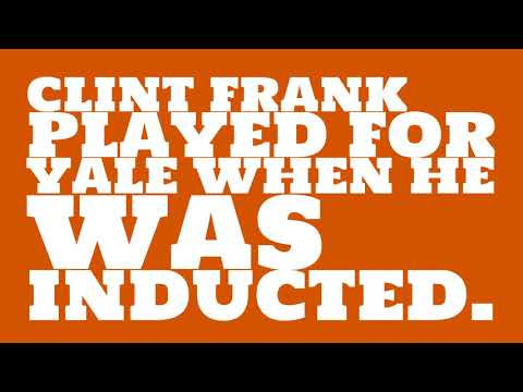 Who did Clint Frank play for?