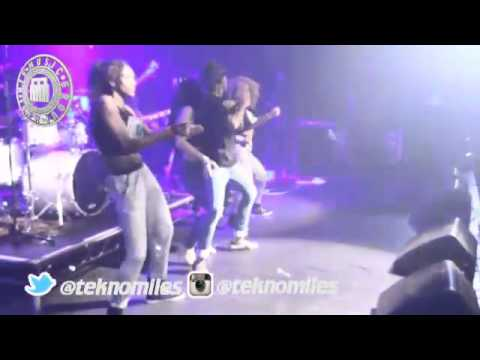 TeknoMiles - Shows Talent on his UK TOUR
