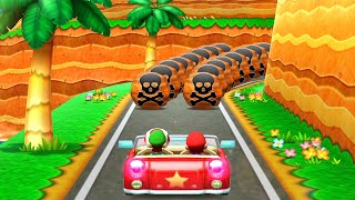 Mario Party The Top 100 MiniGames - Mario Vs Luigi Vs Rosalina Vs Daisy (Master Cpu)