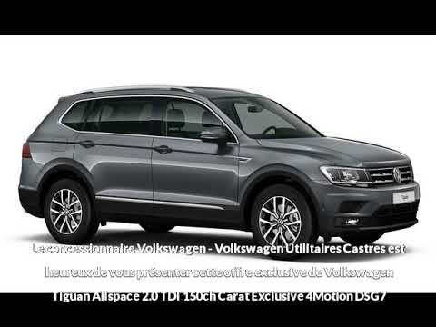 offre de volkswagen tiguan allspace 2 0 tdi 150ch carat exclusive 4motion dsg7 de en vente. Black Bedroom Furniture Sets. Home Design Ideas