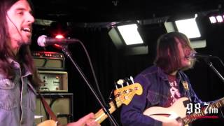 """The Whigs """"Staying Alive"""" Live In-Studio"""