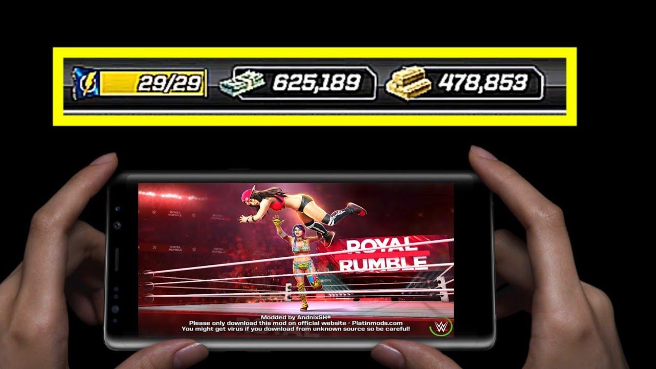 How to install WWE MAYHEM mod apk | Version 1 17 215