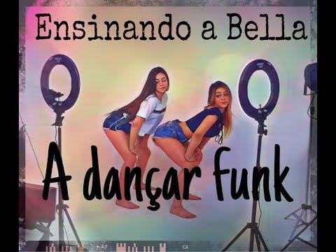 Ensinando a bella dançar funk